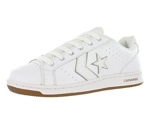 24f8a214c68a Converse Karve Ox White silver Skate Shoes Sz 10.5 M  Did you ever noticed  how some people carve their name on things like tree trunks