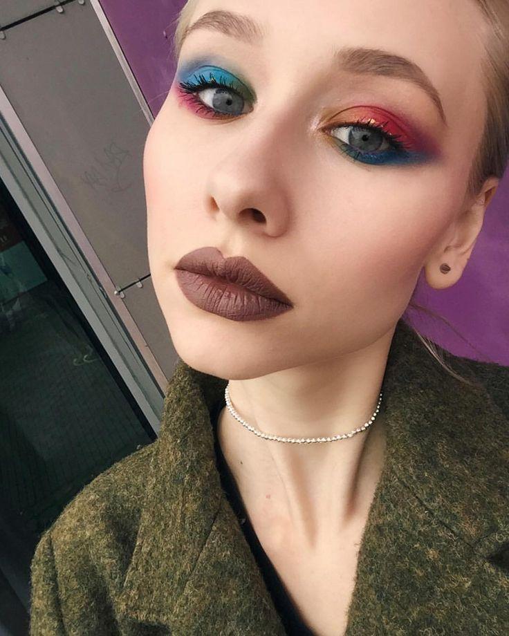 #makeup #mua #makeuplook #makeupartist #makeuplove #nyxcosmetics   52 отметок «Нравится», 3 комментариев — GAV☮ (@alisha_gaydar) в Instagram: «На глазах  NYX ultimate shadow palette brights , тени prismatic в оттенках girl talk и bewitched…»