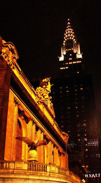 Grand Central Station & Chrysler Building, NYC