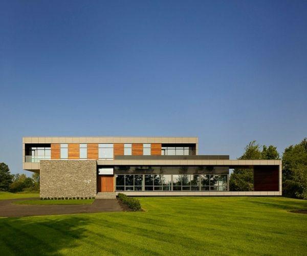 Haus Niagara minimalistische Architektur-Fassade
