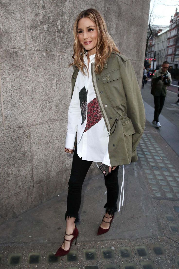Olivia Palermo At London Fashion Week - February 18, 2017