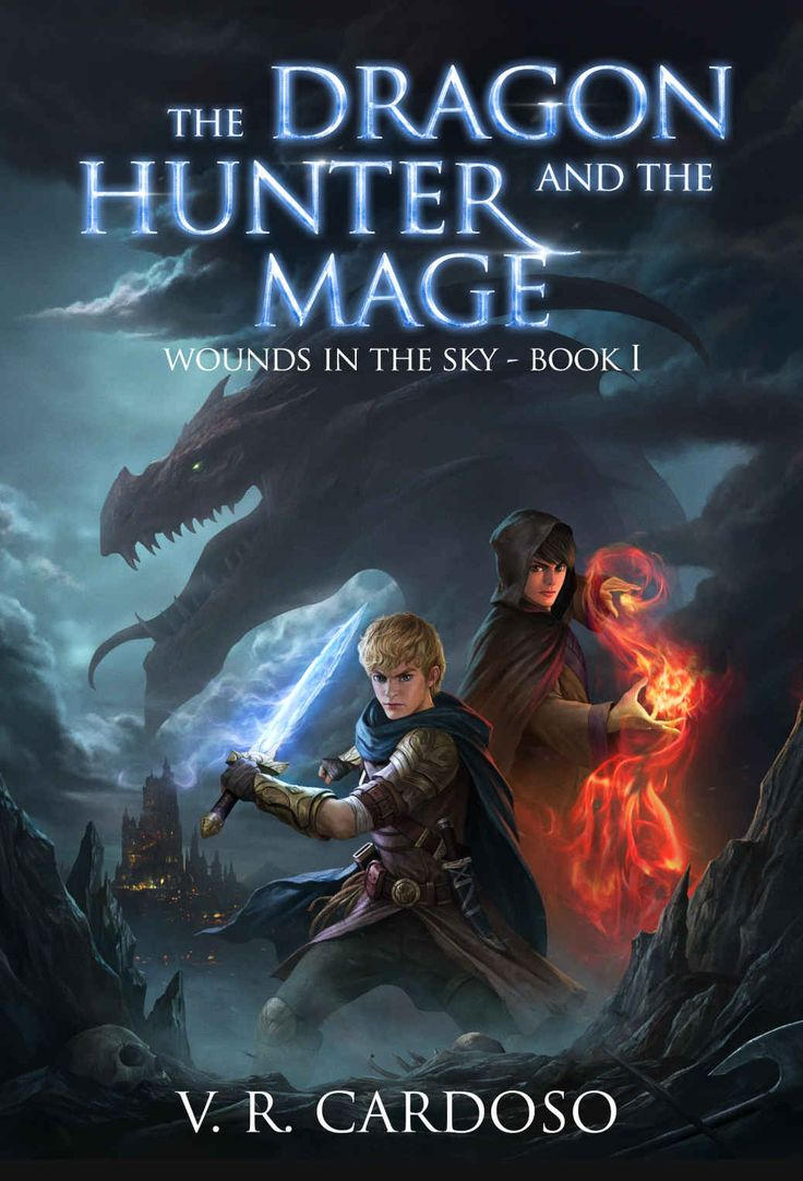 Amazon: The Dragon Hunter And The Mage (wounds In The Sky Book