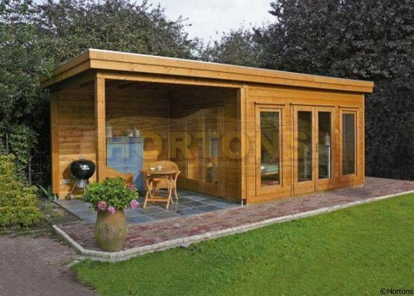 tuinhuisje blokhut model prima victoria 420 x 240 cm 44 mm van lugarde garden studio