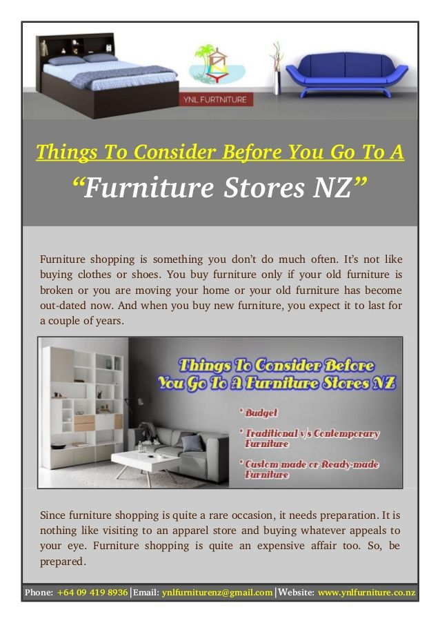 Latest There Are Some Things You Should Know Before Go To A Furniture Stores  Nz If