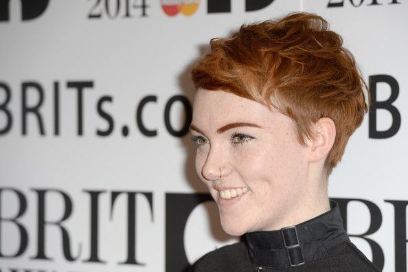 Chloe Howl Chloe Howl attends the BRIT awards nominations at ITV Studios on January 9, 2014 in London, England.