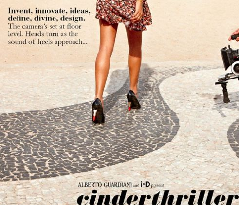 """The shoes designer Alberto Guardiani and I-D, British magazine created by Terry Jones, recently announced the winner of fashion contest Cinderthriller, launched months ago to look for the new It-shoe by Alberto Guardiani, awarding the """"Flutterby shoe"""" – chosen by a special panel featuring the celebrated British shoe designer Georgina Goodman, Anna dello Russo, Sarah, owner of Paris concept-store Colette, Andrew Keith, Terry Jones and Rubina Guardiani"""