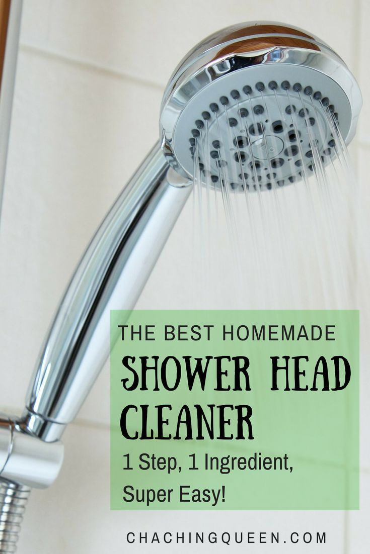 Diy Homemade Shower Head Cleaner 1 Step 1 Ingredient Super