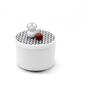 La boîte 'Le goûter' sur http://www.utileetfutile.fr/70-thickbox/boite-le-gouter-wonderland-by-elise-lefevre.jpg Boîte à bijoux, boîte à secrets, boîte à bonheur.. En biscuit de porcelaine et porcelaine, 100% Fabriqué à la main en France par Elise Lefebvre