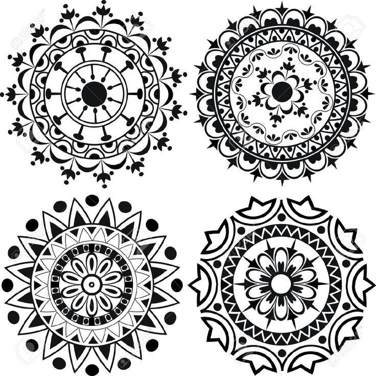 17 best images about lotus motif on pinterest simple mandala photo illustration and mandala. Black Bedroom Furniture Sets. Home Design Ideas