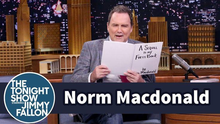 Norm Macdonald Reads an Excerpt from His Unreleased Book Sequel https://www.youtube.com/watch?v=zSiFLo3apjM