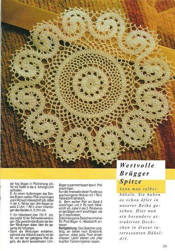 Table cloths - Crochet Knitting Handicraft