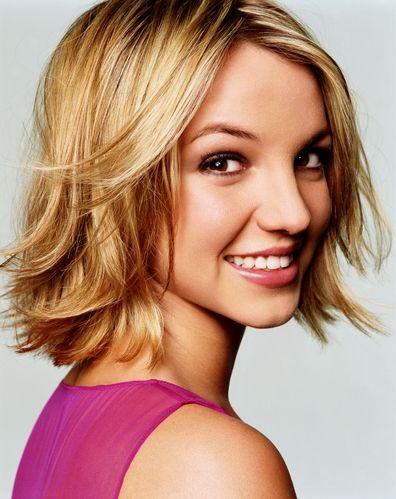 Britney Spears cute short haircut
