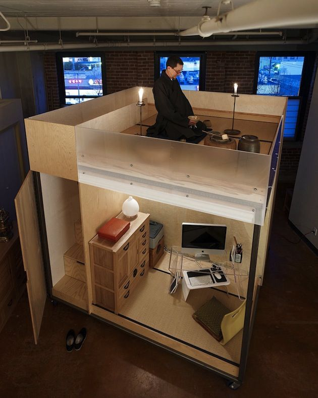 TINY, COMPACT AND MOBILE 'CUBE' DWELLING BY SPACEFLAVOR