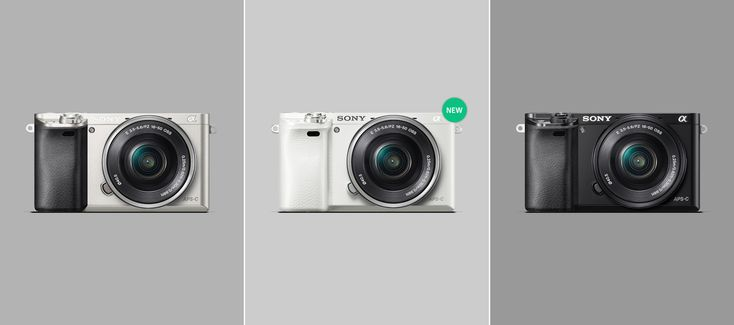 Hybrid Camera | Interchangeable-lens Camera a6000 | Sony US