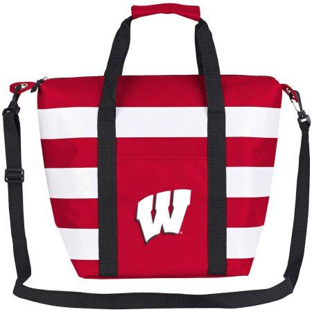 Ncaa Wisconsin Badgers Freeze Insulated Cooler Tote, Red