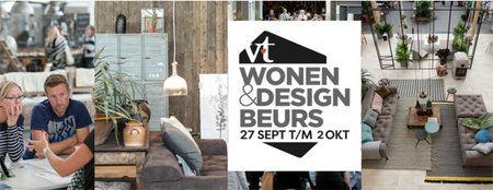 Wonen&Design Beurs Rai Amsterdam 27 september t/m 2 oktober 2016