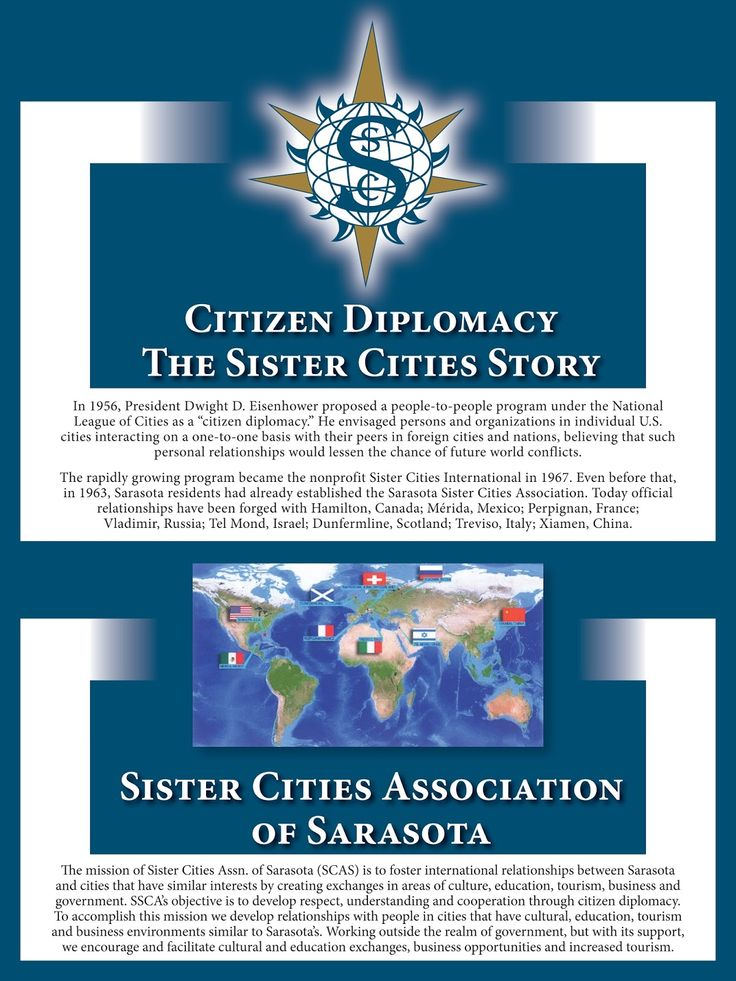 Sarasota Sister Cities: Citizen Diplomacy - The Sister Cities Story
