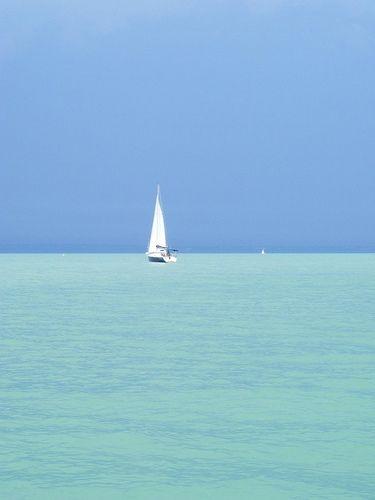 Into the blue- Lake Balaton