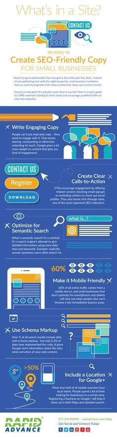 6 Ways To Create SEO-Friendly Website For Small Businesses - #Infographic