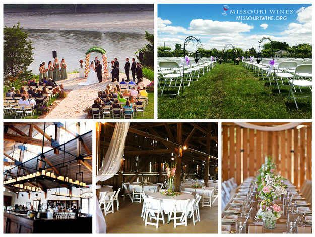 42 Missouri Wineries Where Weddings Come In All Sizes