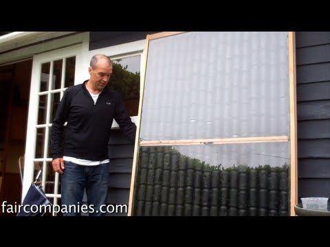 Chauffage solaire: conseils pour construire un panneau de chauffage solaire