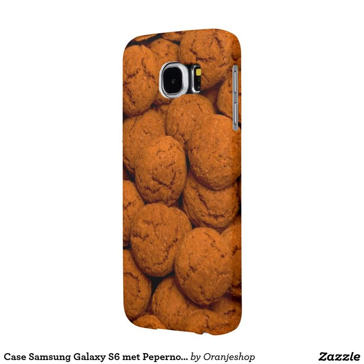 Case Samsung Galaxy S6 met Pepernoten Samsung Galaxy S6 Cases