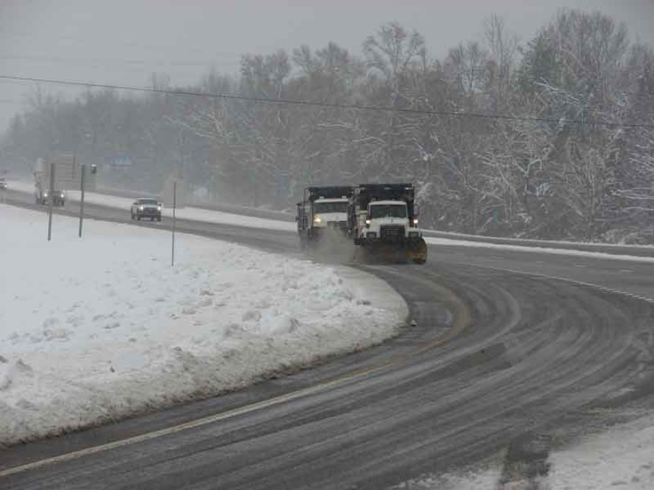 Tennessee's two snow plows....no, I'm sure there are at least a dozen - somewhere....
