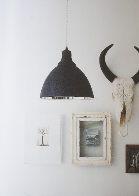 i'm getting more and more attached to the idea of having animal skulls or antlers adorned somewhere in my house.