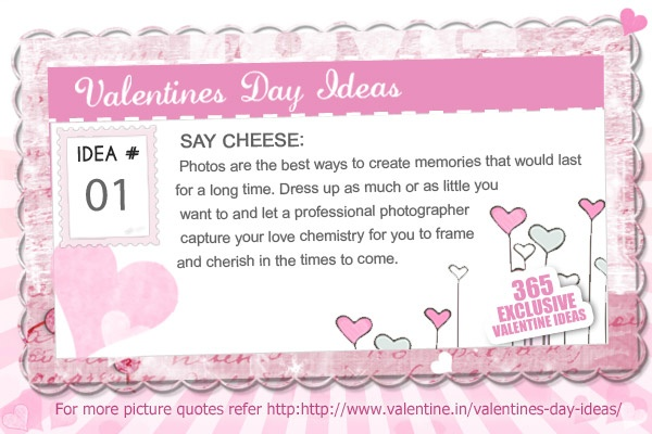 Valentines Day Ideas #1