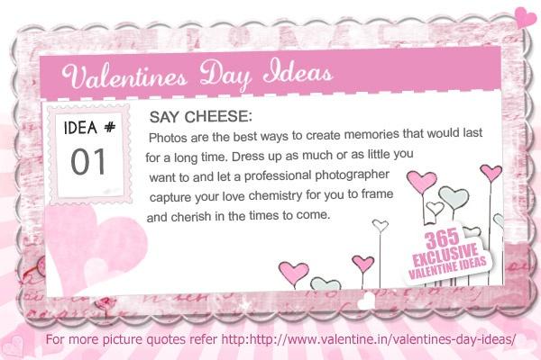 Valentines Day Ideas #1