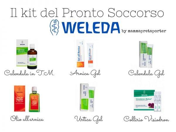 Come creare un kit del pronto soccorso con Weleda