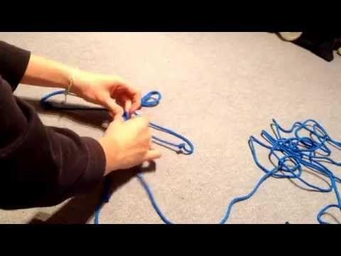 Knotenhalfter selber machen - YouTube