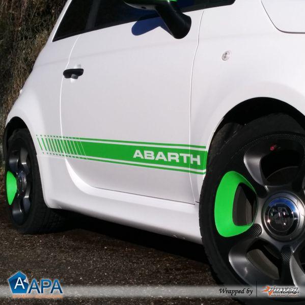 Full wrap matte white and matte green  #apafilms #apavinyl #apafolie #apastickers #carwrapping #carfoil #carwrap #selfadhesive #mattewhite #mattegreen #mattesfoil