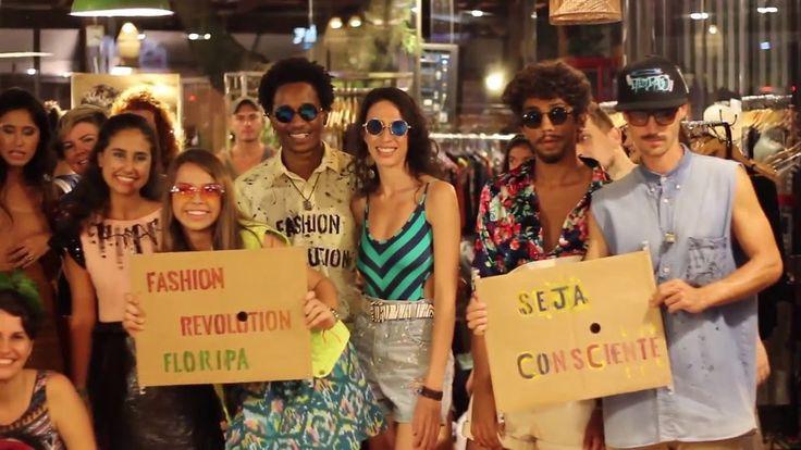 Upcycling, a march and a fashion show. Fashion Revolution, Floripa, Brazil 2016