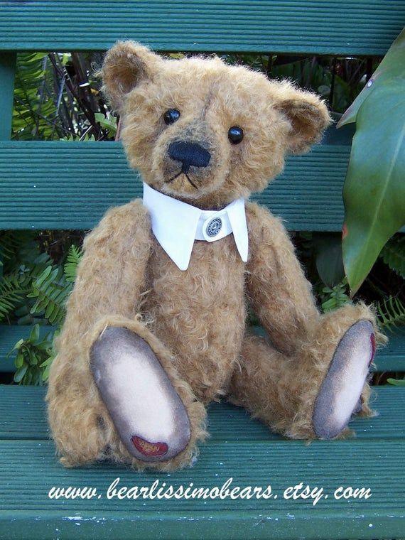 Pdf Teddy Bear Pattern Sebastian 15 Inches Fully Jointed Etsy In 2021 Teddy Bear Pattern Bear Pattern Teddy Bear