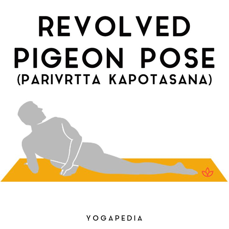 Revolved Pigeon Pose in 2020   Pigeon pose, Poses, Hip ...