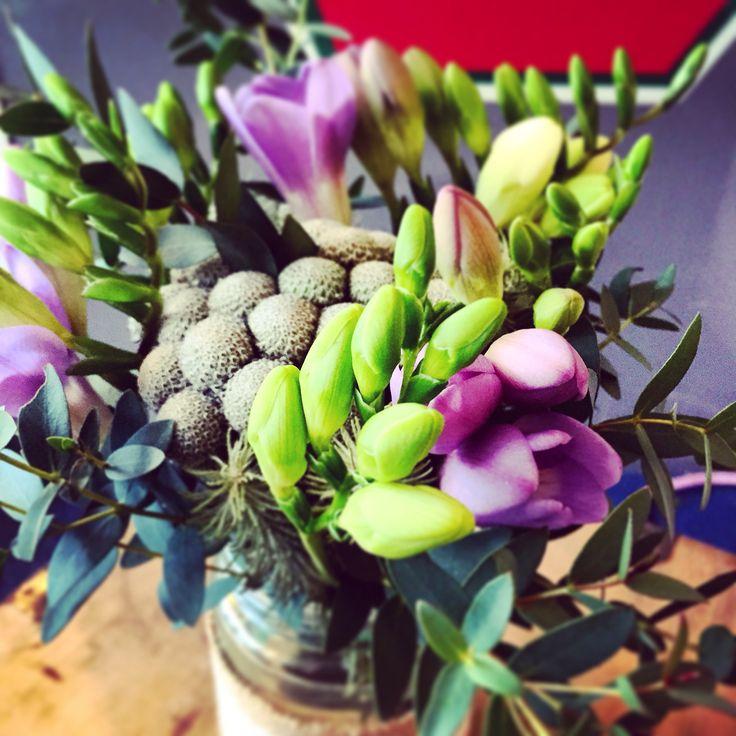 Jam jar weddings from Lotty's flowers.