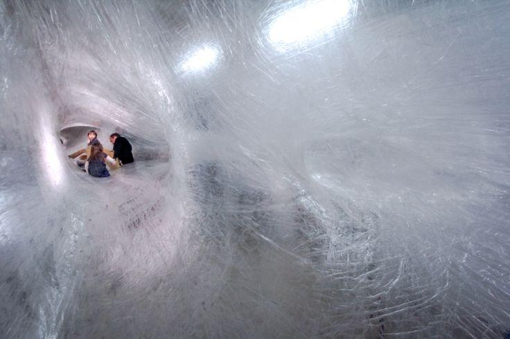 Inside the installation
