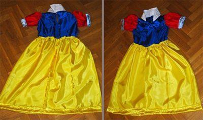 Robe Blanche Neige Déguisement 4 ans, Patron couture gratuit