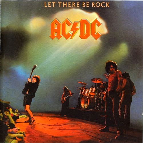 USED COMPACT DISC Released in 1977, Atlantic Records Go Down Dog Eat Dog Let There Be Rock Bad Boy Boogie Problem Child Overdose Hell Ain't A Bad Place To Be Whole Lotta Rosie All used compact discs a
