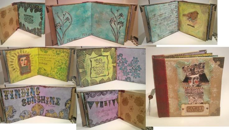 Paper Castles in the Air - Paper Artsy Artful Mini Album: Paper Castles, Minis Books, Minis Dog Qu, Minis Album, Art Minis, Art Journals, Air, Paper Artsy, Artsy Art