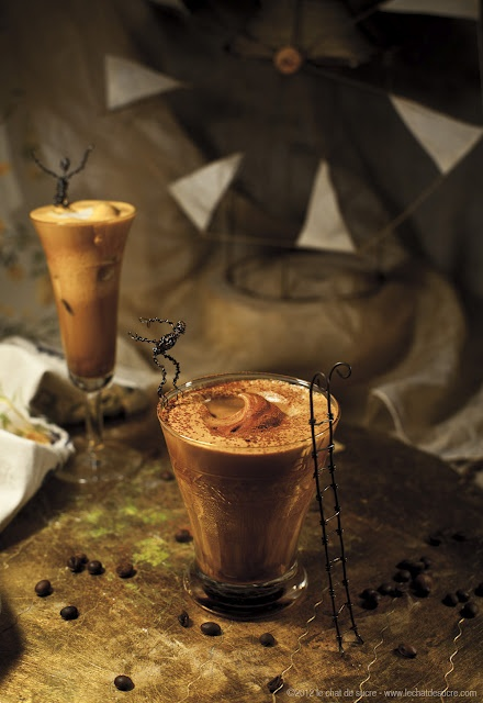 Iced coffee @Le Chat de Sucre