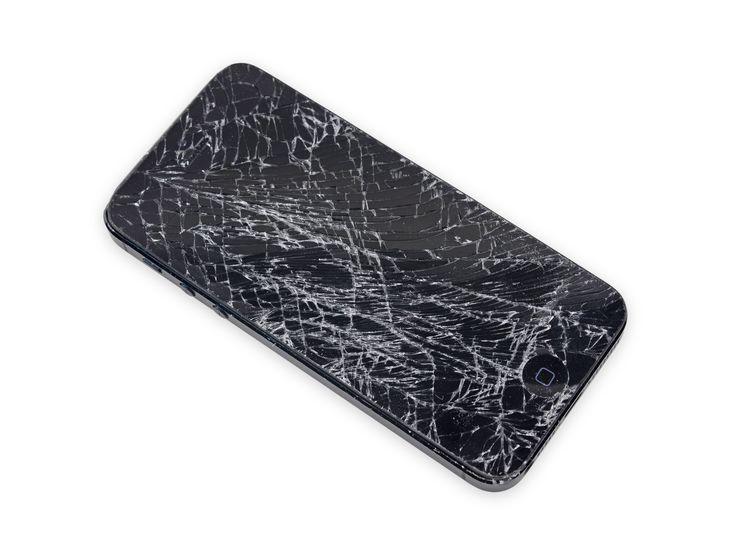 iPhone 5 kırık ekran
