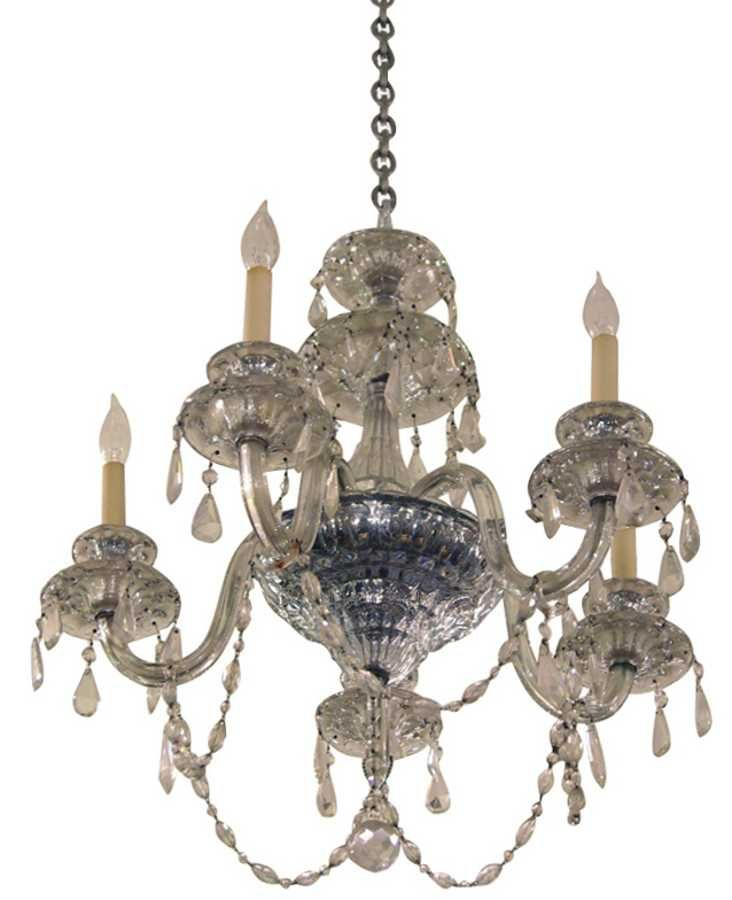 waterford crystal chandelier: architectural salvage online store