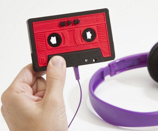Mixtape by MakerBotMusic, 3D Printer, Mp3 Players, Gadgets, Cassette Tape, 3Dprint, 3D Prints, Makerbot Mixtape, Blog
