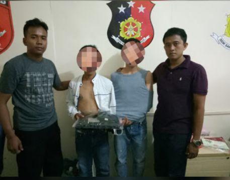 Polres Tanjungpinang Sektor Bukit Bestari Unit Reskrim Tangkap Pelaku Curas