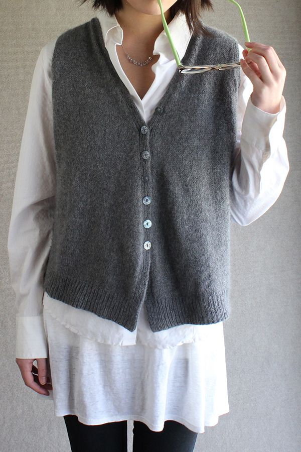 Sunday Knits - sleeveless swewaters and vests - patterns & kits - Best 25+ Vest Pattern Ideas On Pinterest Patrones, Sewing