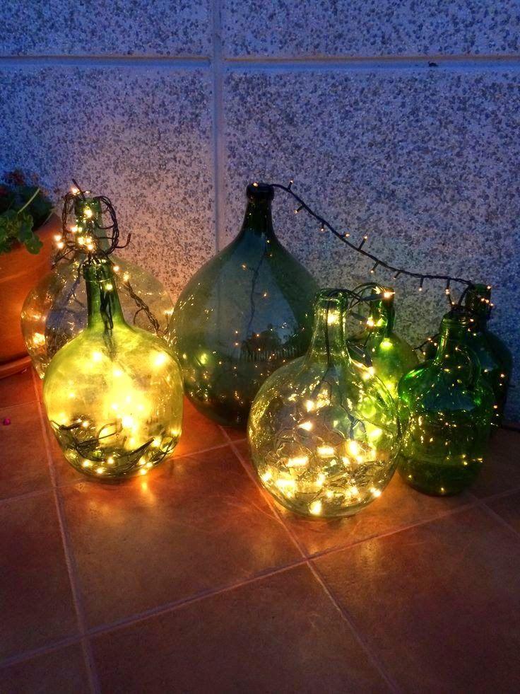 M s de 25 ideas incre bles sobre luces led de navidad para - Luces navidenas solares ...