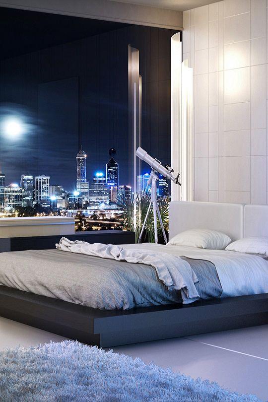 Livingpursuit Bedroom With A View Modloft Modern Furniture