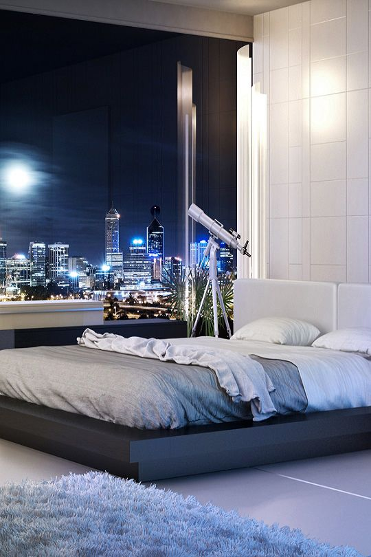 "livingpursuit: ""Bedroom With A View 